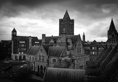 View From Belfry Of Christ Church Cathedral, Dublin
