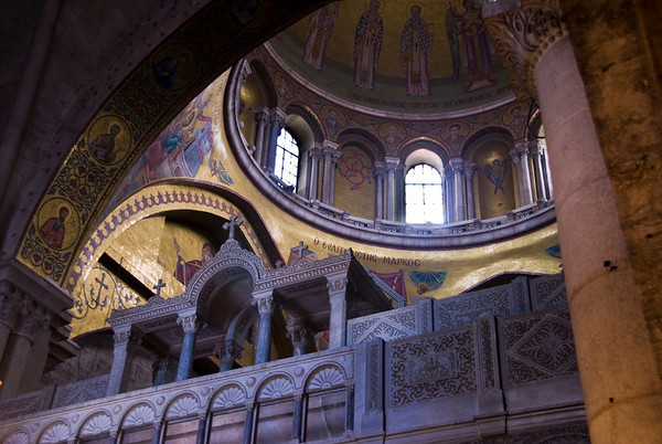 Church Of The Holy Sepulchre - Jerusalem  ©Gerald Diamond All rights reserved