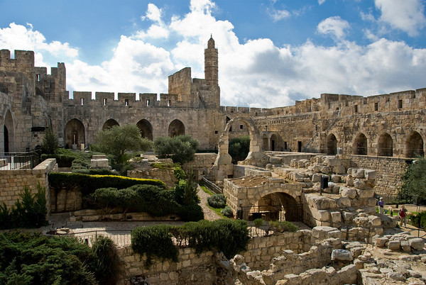The Citadel And The Tower Of David, Old City Of Jerusalem  ©Gerald Diamond All rights reserved