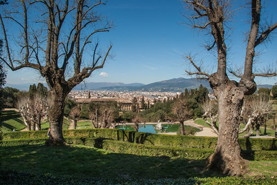 Florence from Boboli Gardens of the Pitti Palace, 2013  ©Gerald Diamond All rights reserved