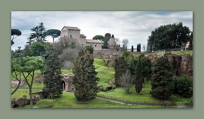 Palatine Hill, Rome, 2013