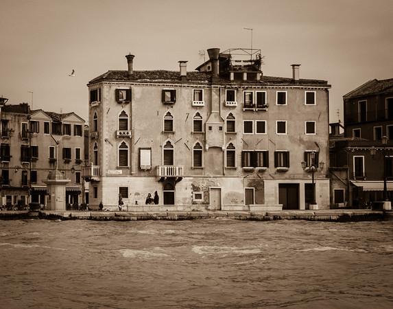Near Giardini Vaporetto Stop, Venice, 2013  ©Gerald Diamond All rights reserved