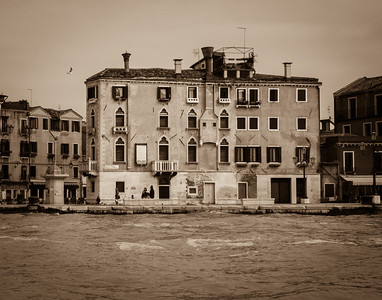 Near Giardini Vaporetto Stop, Venice, 2013  ©Gerald Diamond All rights reserved