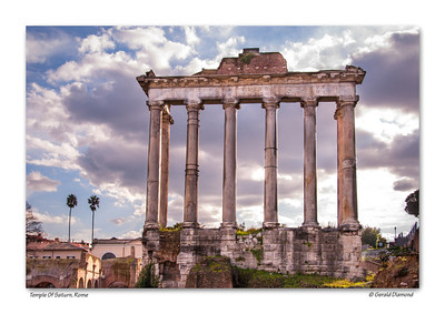 Temple of Saturn (dating from 498 BC), Rome