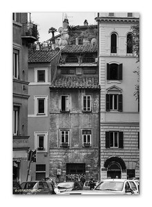 Piazza Trilussa, Trastevere, Rome, 2013  ©Gerald Diamond All rights reserved