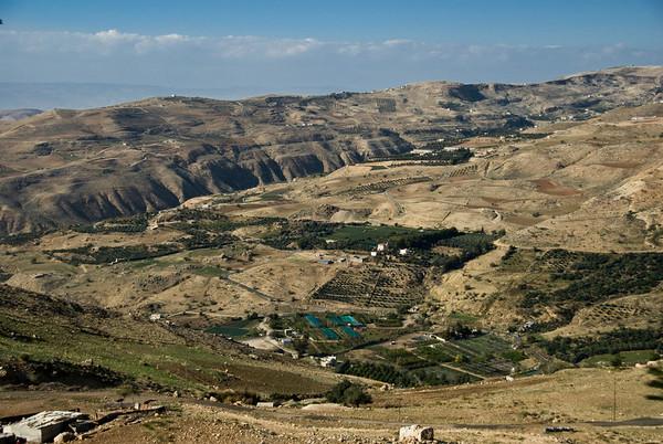The Jordanian countryside northwest of Amman - 1