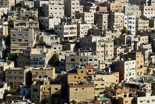 Amman, Jordan Cityscape From The Citadel - 2