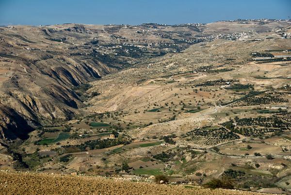 The Jordanian countryside northwest of Amman - 2