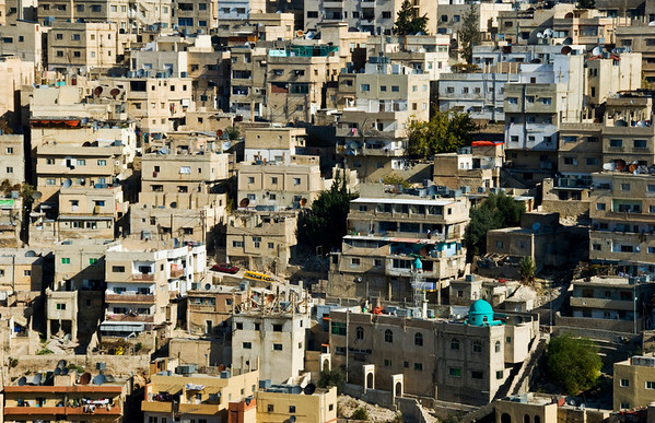 Amman, Jordan Cityscape From The Citadel - 3