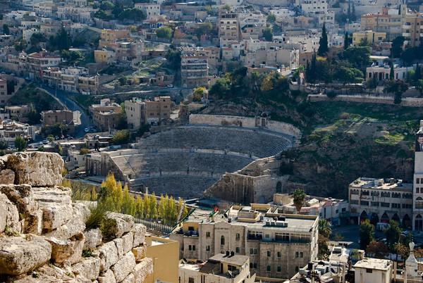 Amman, Jordan Cityscape From The Citadel - 4