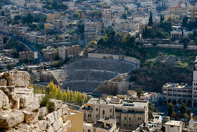 Amman, Jordan Cityscape From The Citadel - 4