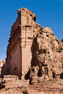 A Boy, His Donkey and a Royal Tomb of Petra, Jordan
