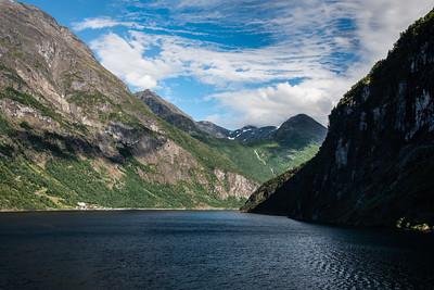 Geiranger Fjord Postcard, Norway