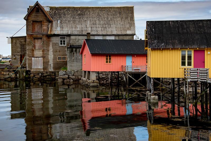 Small Harbor - Leiknes, Lofoten Islands, Norway