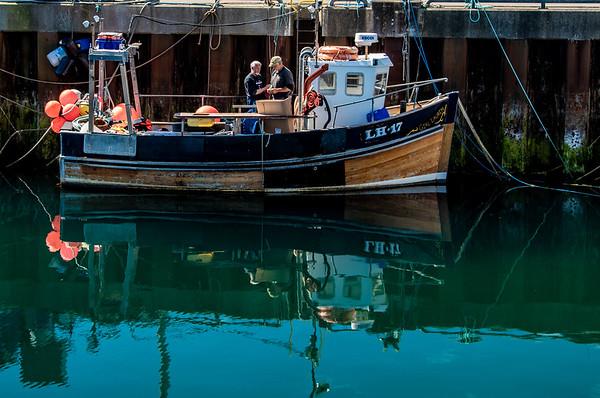 Stromness Fishermen, Orkney Islands