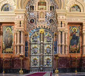 Church On The Spilled Blood - Iconostasis