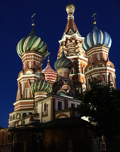 St. Basil's Cathedral near Kremlin