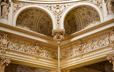 Faberge Museum Ceiling Work - St. Petersburg
