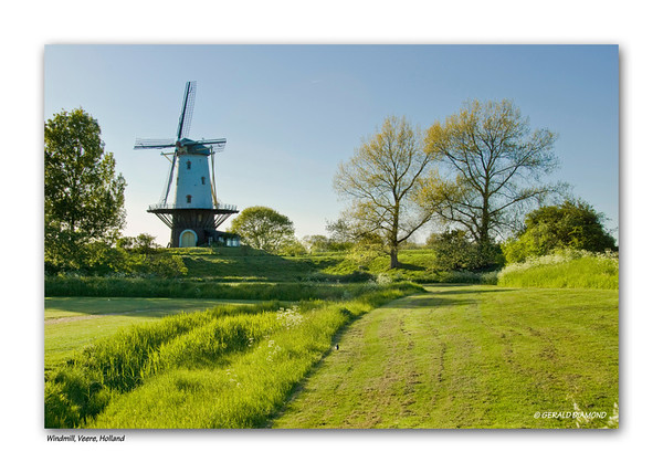 Windmill, Veere - southern Dutch coast