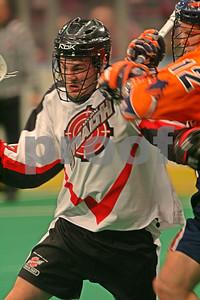 Luke Wiles drives the net