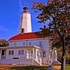 The Sandy Hook Light House