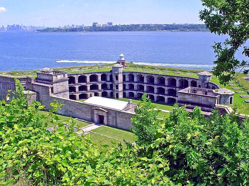 Fort Wadsworth on Staten Island