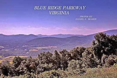 The Blue Ridge Parkway in Virginia