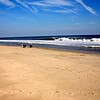 On The Beach at Sandy Hook in New Jersey