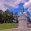 Statue of John Smith in Historic Jamestown