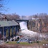 New Jersey's Great Falls on the Passaic River in Paterson, NJ