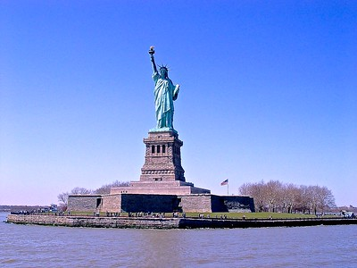The Statue of Liberty Pedestal