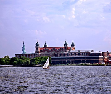 The Main Building - Ellis Island