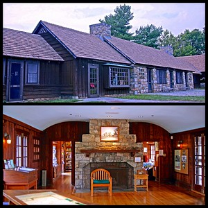 Dickey Ridge Visitor's Center on Skyline Drive