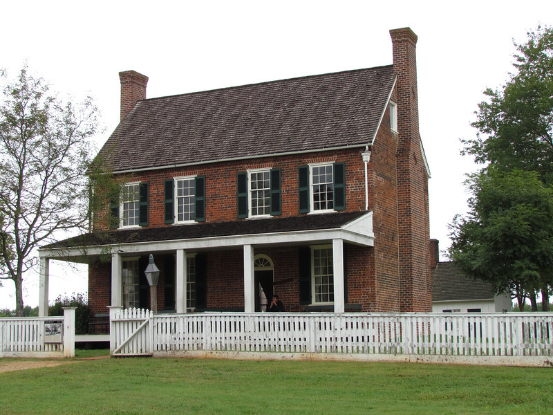 This tavern was used to house the printing equipment for the paroles given to the Confederate troops.