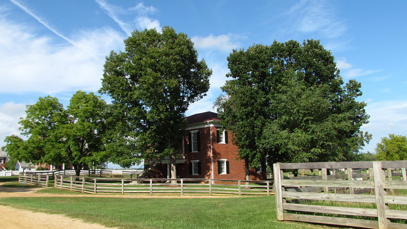 Appomattox County Courthouse, now the park Visitor Center.