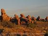 Landscape Arch trail dawn, Arches NP UT (4)