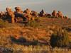 Landscape Arch trail dawn, Arches NP UT (6)