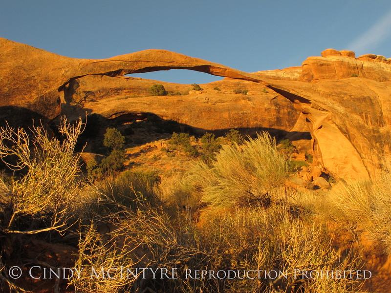 Landscape Arch dawn, Arches NP UT (1)