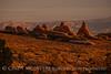 Landscape Arch trail dawn, Arches NP UT (1)