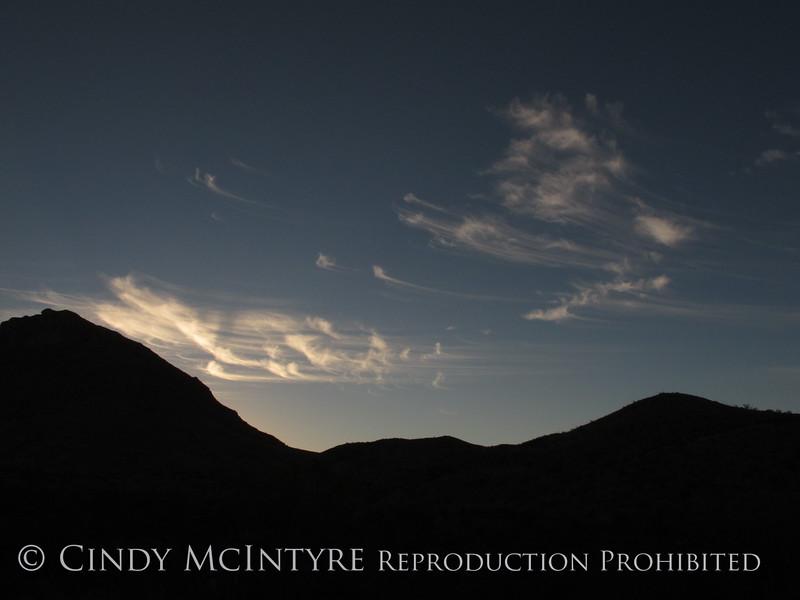 Cirrius Clouds Persimmon Gap (1)