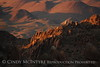 Grapevine Hills spires at Sunset