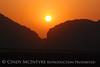 Dog Canyon Sunrise in smoke haze (1)