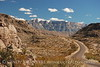 Sierra del Carmen range and the Rio Grande Village road