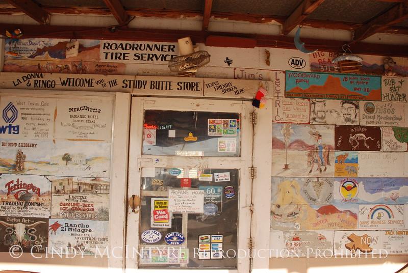 Study Butte Store Doorway