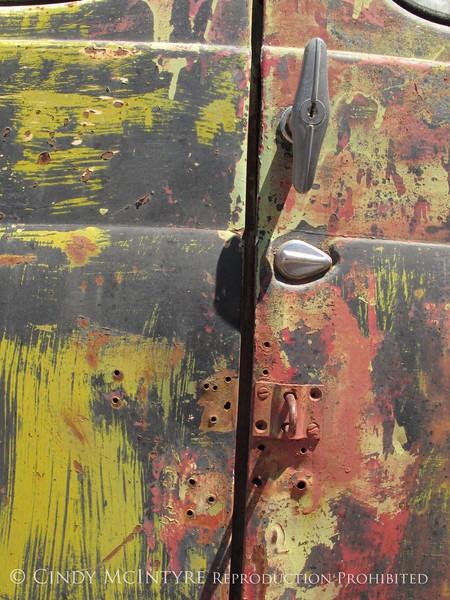 GM Truck door, Terlingua (2)