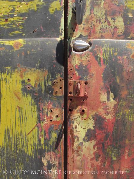 GM Truck door, Terlingua (1)
