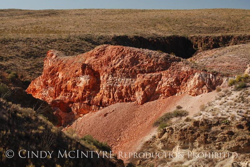 Burro Mesa, red canyon (3)