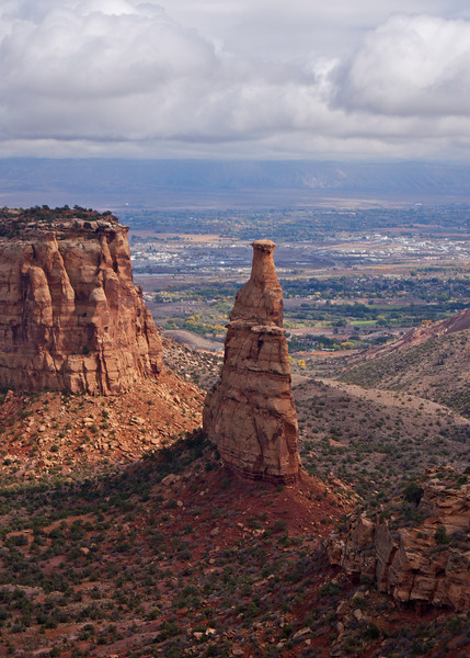 The Independence Monument; Colorado National Monument.