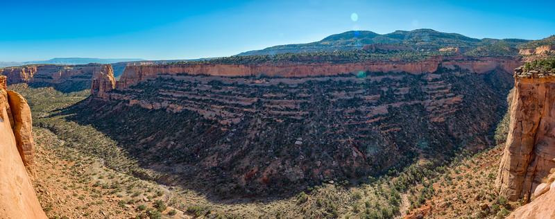 Colorado National Monument - Panorama