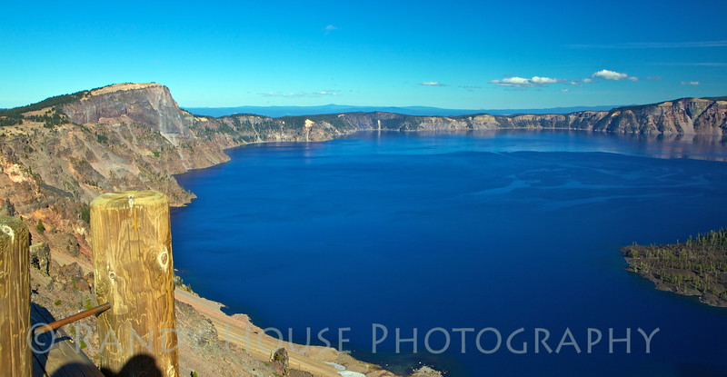 Overview of Crater Lake looking northeast